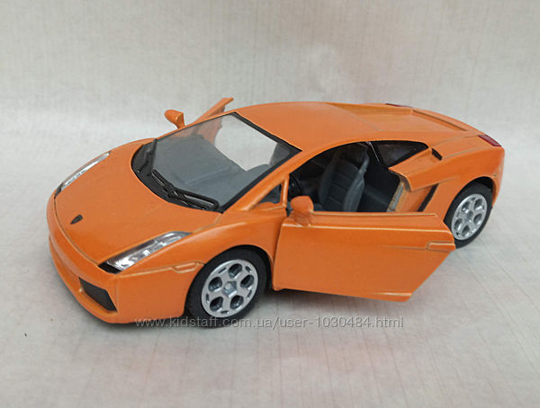 Машинка Kinsmart KT 5098 W Lamborghini Gallardo