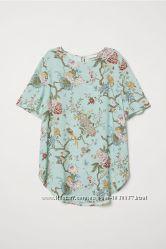 Нарядная футболка женская  H&M размер ХС