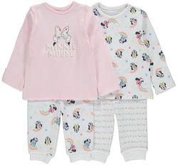 Пижама для девочки George размер 62-68 см