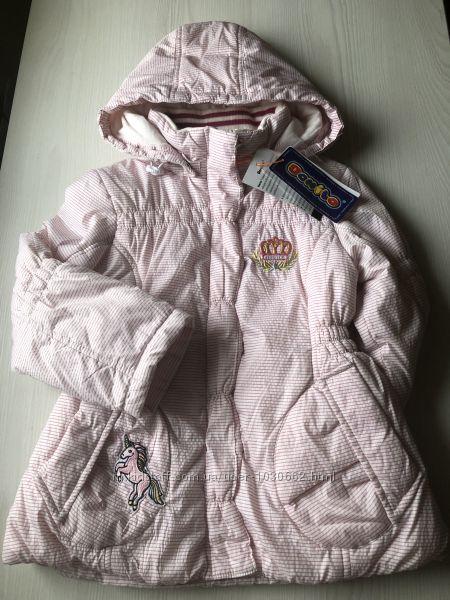 Демисезонная курточка для девочки , Donilo на 4-5 лет, рост 104-110 см