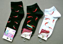 Большой выбор. Женские носочки с перцем.