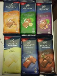 Шоколад Magnetic - на кожен смак