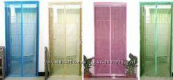 Шторка на двери от насекомых, антимоскитная сетка, ширина 1, 2 м