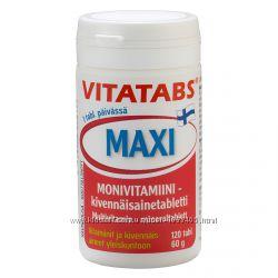 VITATABS MAXI Мультивитамины из Финляндии