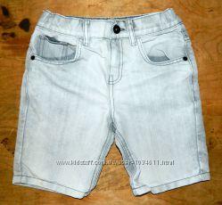 Джинсовые шорты F&F на парня 8-9 лет 134 см бу в отличном состоянии