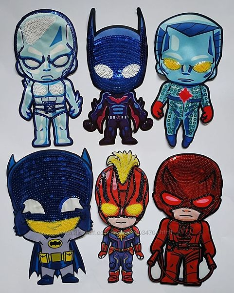 Нашивки Супергерої