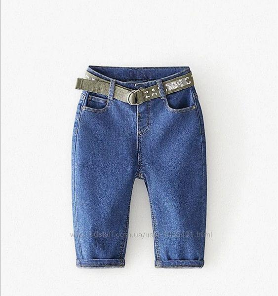 Новый джинсы слойчи Zara 3-4 года