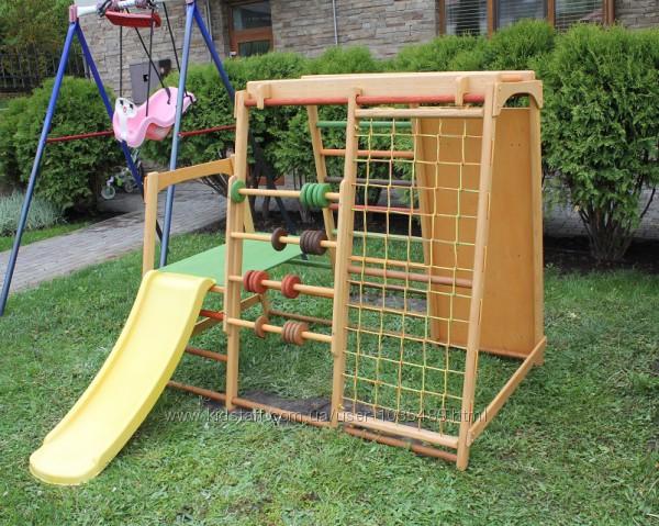 Детский игровой комплекс для улицы с горкой Малыш 2
