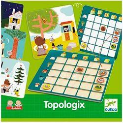 настольная развивающая игра  Djeco Topologix Топология Топологика