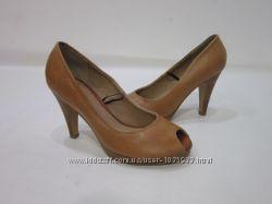 Туфлі Fiore Кожа з відкритим носком р. 38, стелька 24. 5см