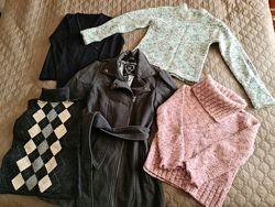 Пакет теплой одежды для девочки 9 лет