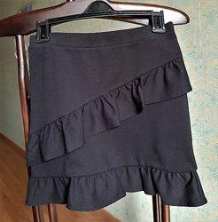 Юбка черная H&M, р.146-152, состояние новой