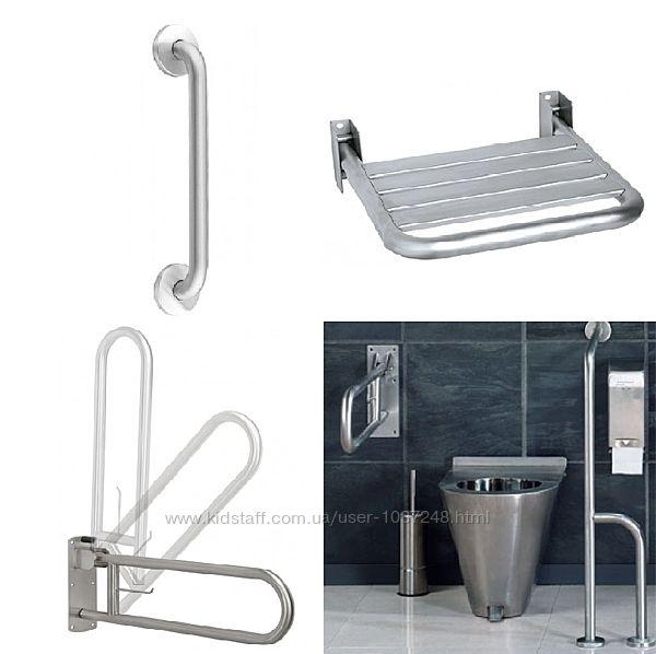 Поручни и опоры для инвалидов, поручни и опоры для ванной и туалета