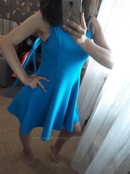 Красивое платице юбка солнце marks & spencer