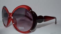 Ликвидация склада. Gucci 28038 солнцезащитные очки в красной оправе Италия