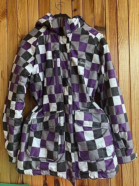 Зимняя курточка на любые морозы ,164