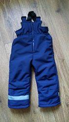 Полукомбинезон детский мембрана, зимние термо штаны, аналог Reima, Lenne