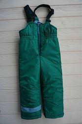 Теплый зимний полукомбинезон, лыжные штаны Dzziga