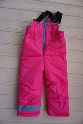 Зимние штаны, лыжный полукомбинезон Dzziga для девочки