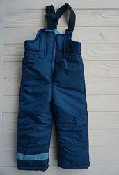 Полукомбинезон теплый зимний Dzziga для мальчика, лыжные штаны