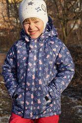 Теплая зимняя куртка Dzziga, аналог Reima, Lenne