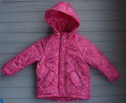 Зимняя куртка парка Dzziga на девочку, аналог Reima, размер 98 и 104