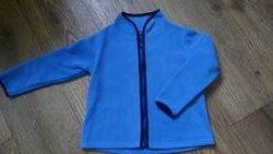 Флисовая кофта на мальчика, размеры 104-134