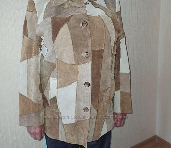 Куртка жіноча замшева