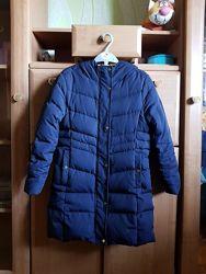 Пуховик зимний Zara на 9-10 лет