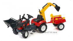 Трактор дитячий на педалях з прицепом Falk 2051CN  з прицепом