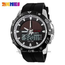 Мужские водонепроницаемые часы Skmei 1064 на солнечной батарее