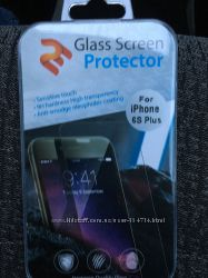 Зашитное стекло iphone 6s Plus