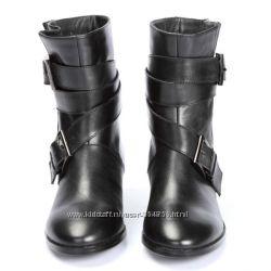 Кожаные демисезонные ботинки  Nine West