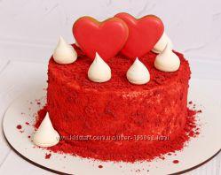 Тортики для Любимых ко Дню Святого Валентина Киев