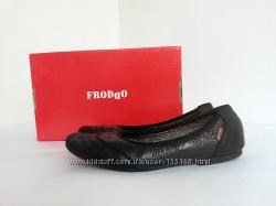 FRODDO, оригинал, Хорватия. Черные кожаные туфли высокого качества, кожа