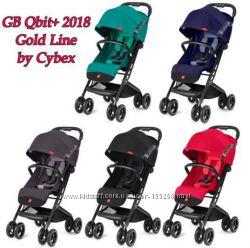 Прогулочная коляска GB Qbit plus 2018  красные