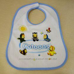 Слюнявчик детский Cotoons