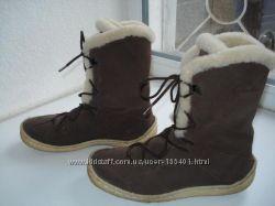 Зимние сапожки Clarks.   Размер 36-37. стелька 23, 5см