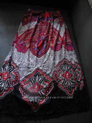штапельная макси юбка Forever21 размер L