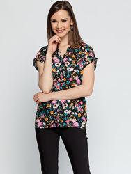 штапельная блузка LC Waikiki Турция размер 46 европейский