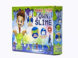 Набор Make yuor own slime Слайм-лаборатория