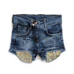 Джинсовые шорты для девочки. Классные
