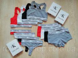 Женские комплекты Calvin Klein, мужское белье из хлопка