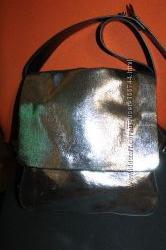 John Lewis Kin Эксклюзив сумка кросс боди. Кожа высота -   32 см. , длина -
