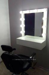 Зеркало косметолога - визажиста. с подсветкой