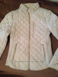 ZARA стильная стёганая куртка