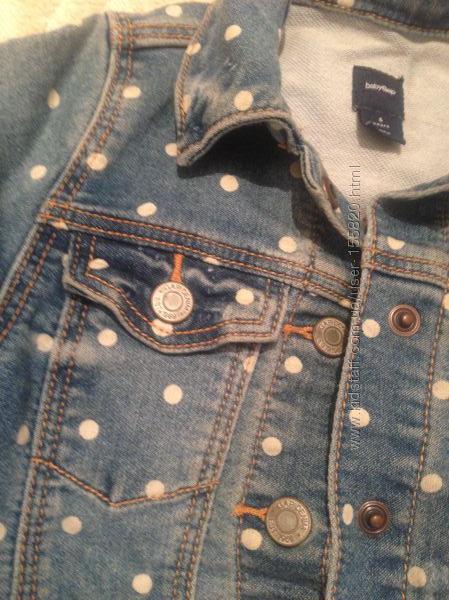 GAP  шикарная джинсовый жакет