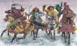 Солдатики 50 мм Конные монголы - Italeri 6864
