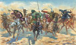 Солдатики 54 мм Арабские воины средних веков - Italeri 6882