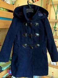 Красивое пальто George 5-6 лет